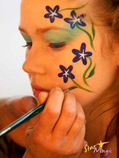 schminken makkelijk bloemen - Google zoeken