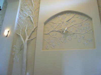 1000 images about drywall art on pinterest drywall michelangelo and mud - Fabulous wall art using joint compound ...