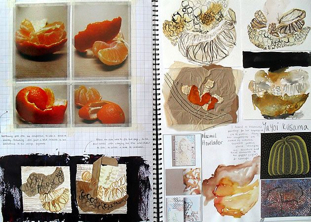 Sculpture and 3D Design Sketchbooks – 20 Creative examples