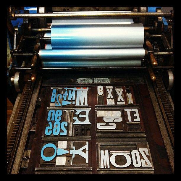 pre inked st machine