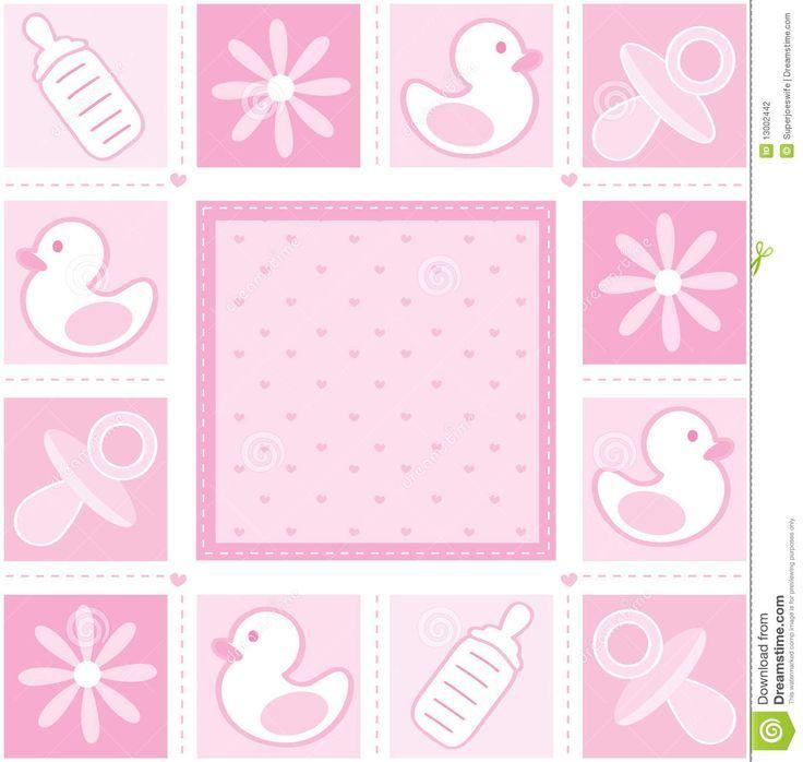 Resultado de imagen para fondos rosados para baby shower