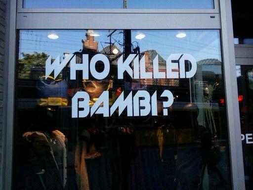 Bambi, berlin shop