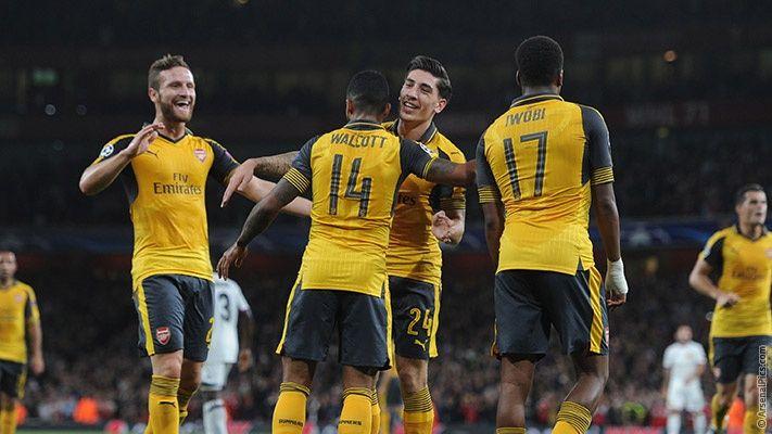 Arsenal 2-0 FC Basel - Match report