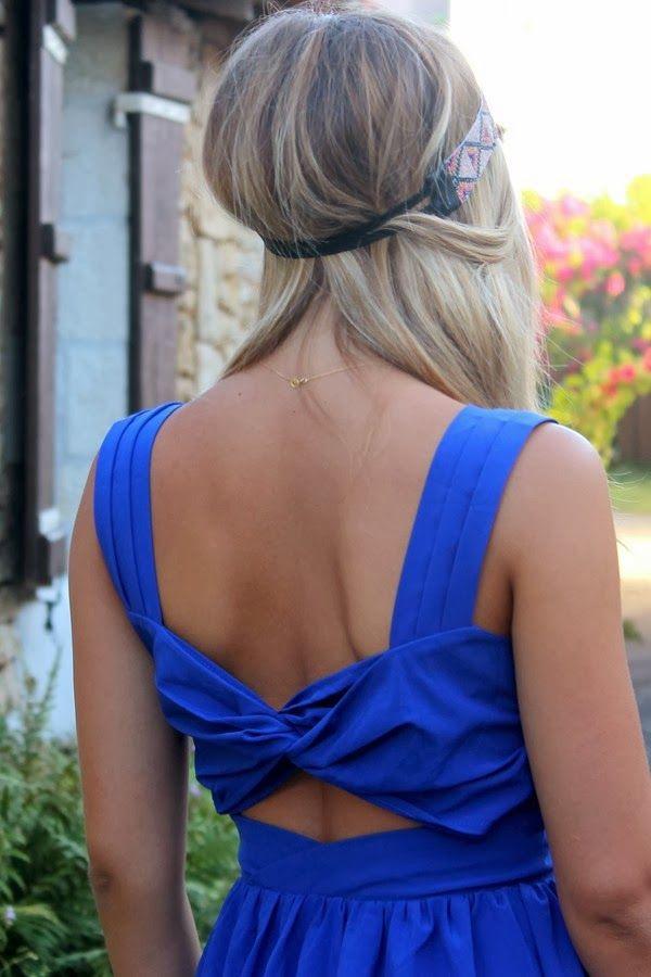 * Blog mode Bordeaux, shopping, tendance et voyages: La (dernière) robe dos nu