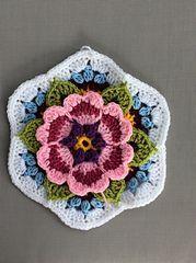 Ravelry: Snowienowie's Frida's Flowers Blanket 2