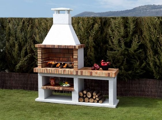 91 best дачное images on Pinterest Outdoor kitchens, Barbecue - pizzaofen mit grill