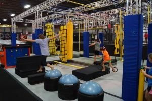 Ninja Warrior Course at Urban Air Trampoline Park - one in IN now, coming to IL soon