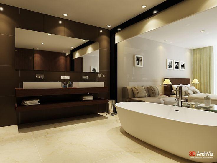 Brown Bathroom Designs