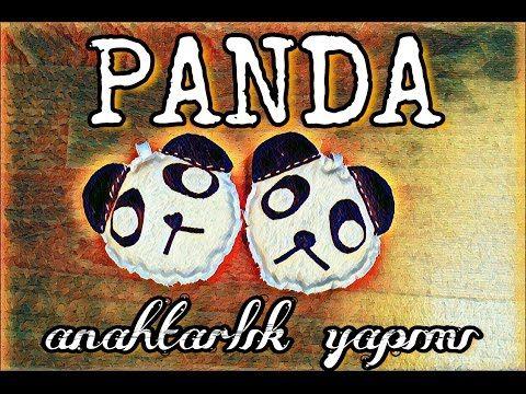 PANDA anahtarlık yapımı! DIY