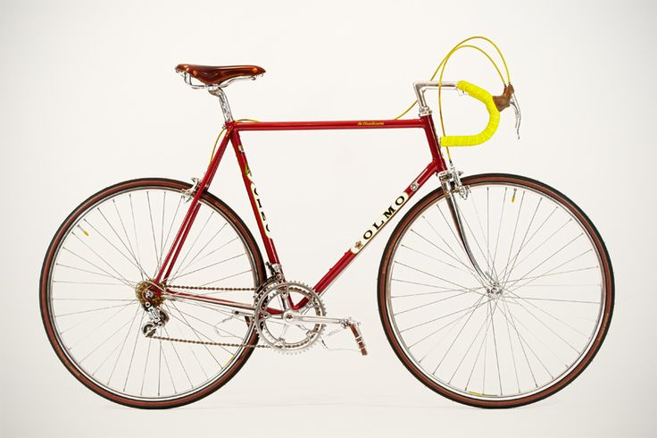 """Lola"" – my pretty 80s vintage racebike..."