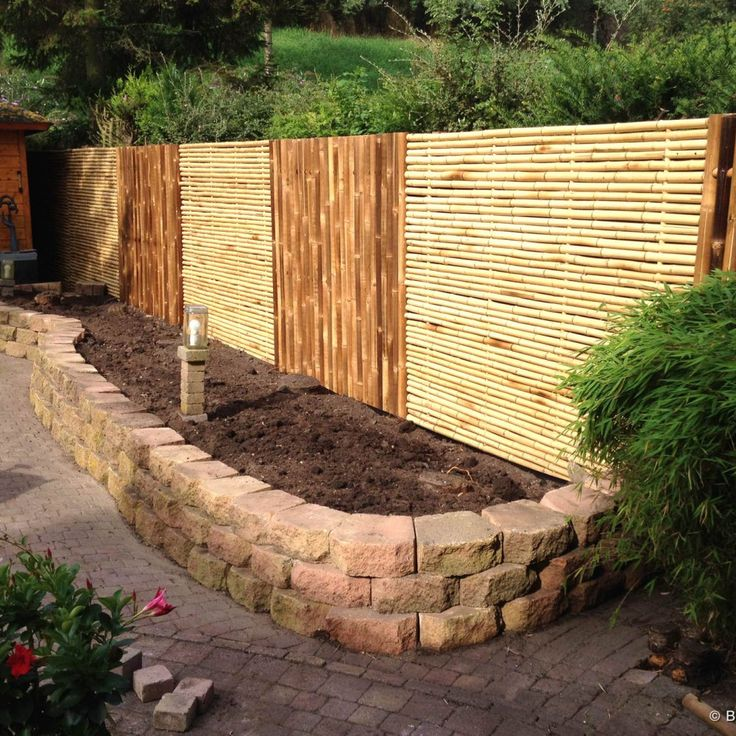 Bamboo Fence Panel Trendline 180 x 180 cm in 2020 (With