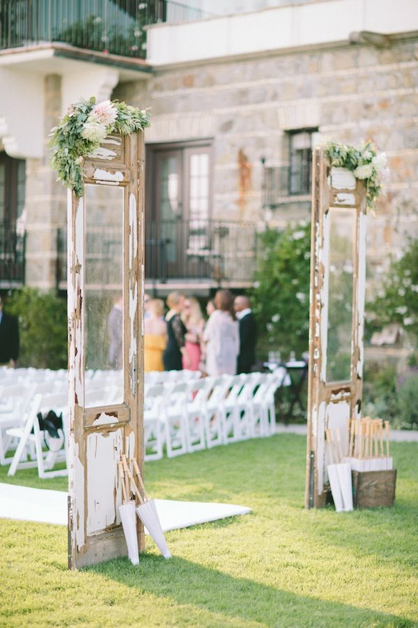 Aberdeen Doors at Art Deco Glam Wedding with Bash Please, Paige Jones Photography, JL Designs, Pitbulls and Posies, and Found Vintage Rentals