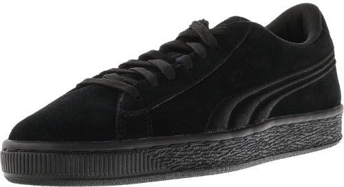 Puma Classic Badge Suede Black / Ankle-High Fashion Sneaker - 7M