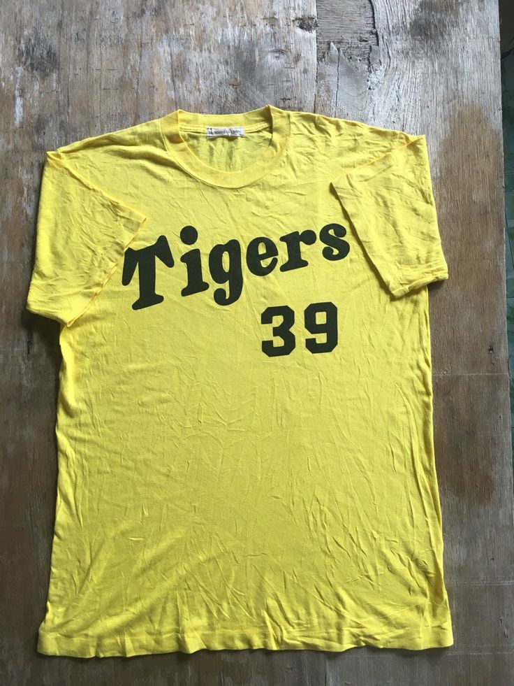 A personal favourite from my Etsy shop https://www.etsy.com/listing/261600076/mega-sale-rare-vintage-hanshin-tigers