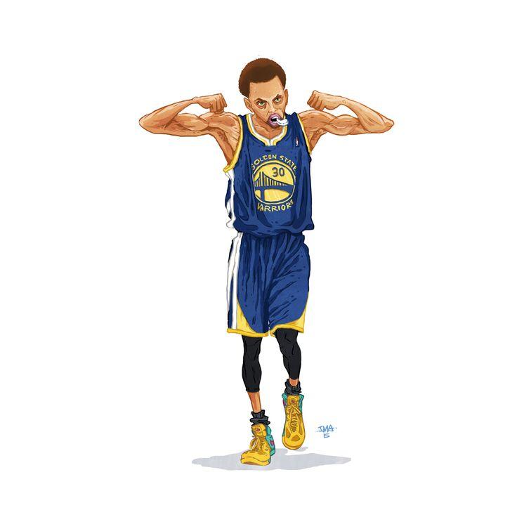 Nba Doodles By Justin Manzana Illustration Basketball