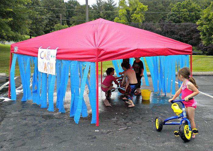 Water #Fun for #Kids: Workin' at the Car Wash