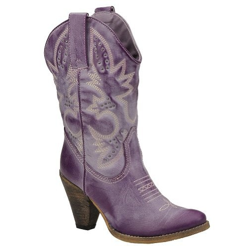 Purple cowboy boots! Adding to my Amazon wish list now!