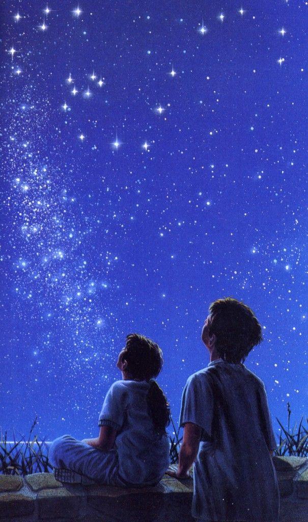 Bambini-con-cielo-stellato.jpg (605×1024)