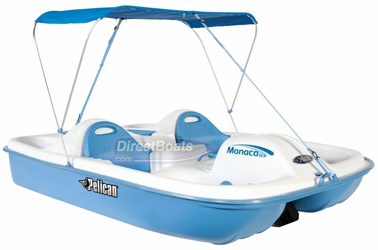 Storing Bikes On Boats: The Pelican Monaco DLX Pedal Boat Offers Room For 2 Adults