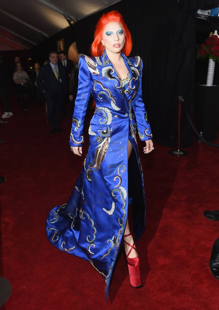 Lady Gaga's David Bowie-Inspired Look Deserves a Round of Applause