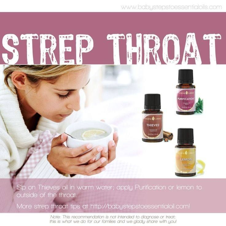 Treating Strep Throat With Essential Oils 5