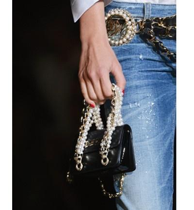 Mini bolso barroco de DSquared2