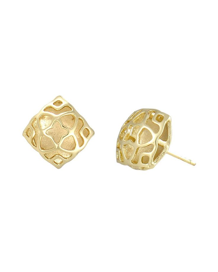earrings allergy free simple img gold original heart detail stud products with round shaped