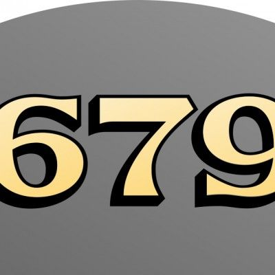 matte gold house numbers forward 22 kt matte gold house numbers