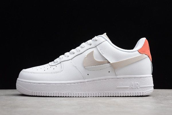 2019 Nike Air Force 1 07 Lx Inside Out White Game Royal Habanero Red Platinum Tint 898889 103 Air Force Shoes Nike Air Shoes Nike Air