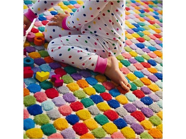 Bright and Colourful Rug - will be great for kids room - looks delicious!! -www.homeology.co.za
