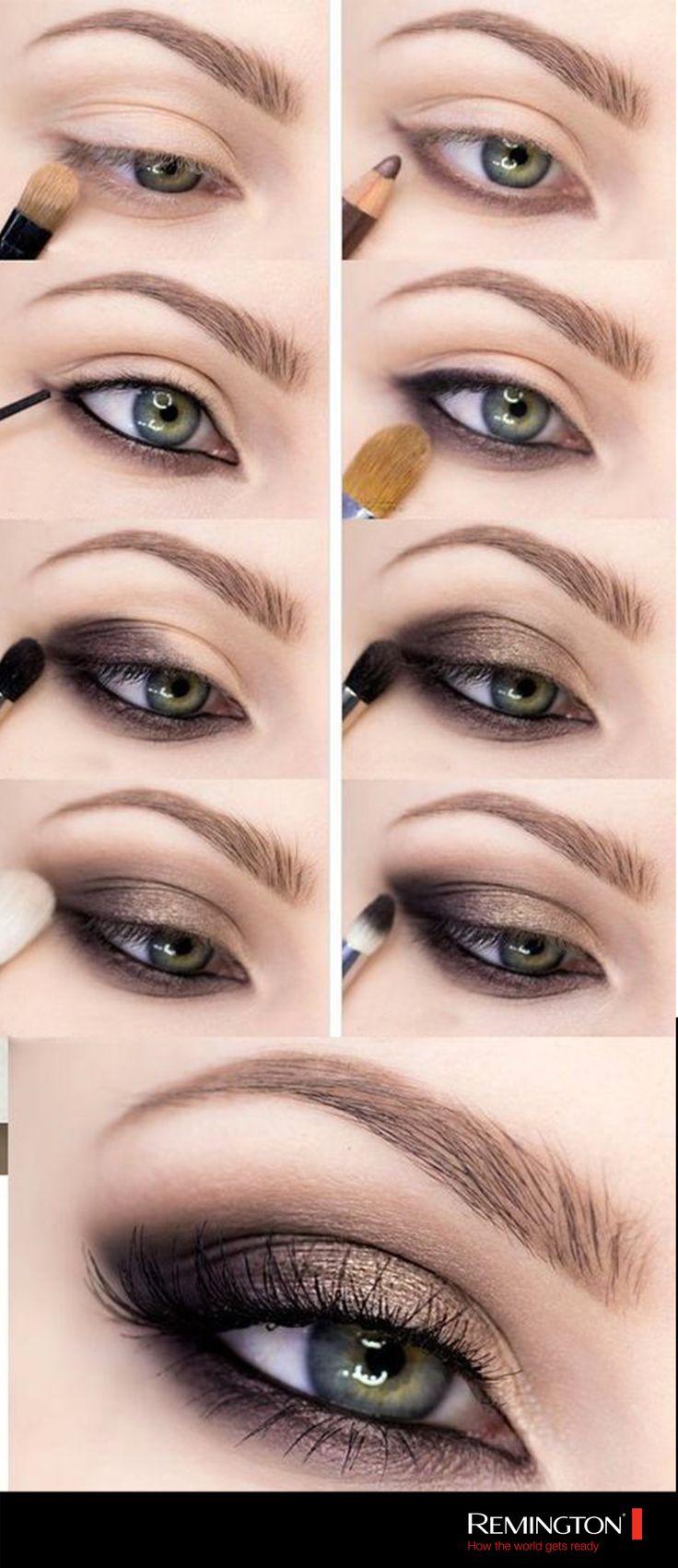Este sencillo y lindo maquillaje hará que tu mirada sea la protagonista de la noche. ¡Inspírate y llévalo con actitud!
