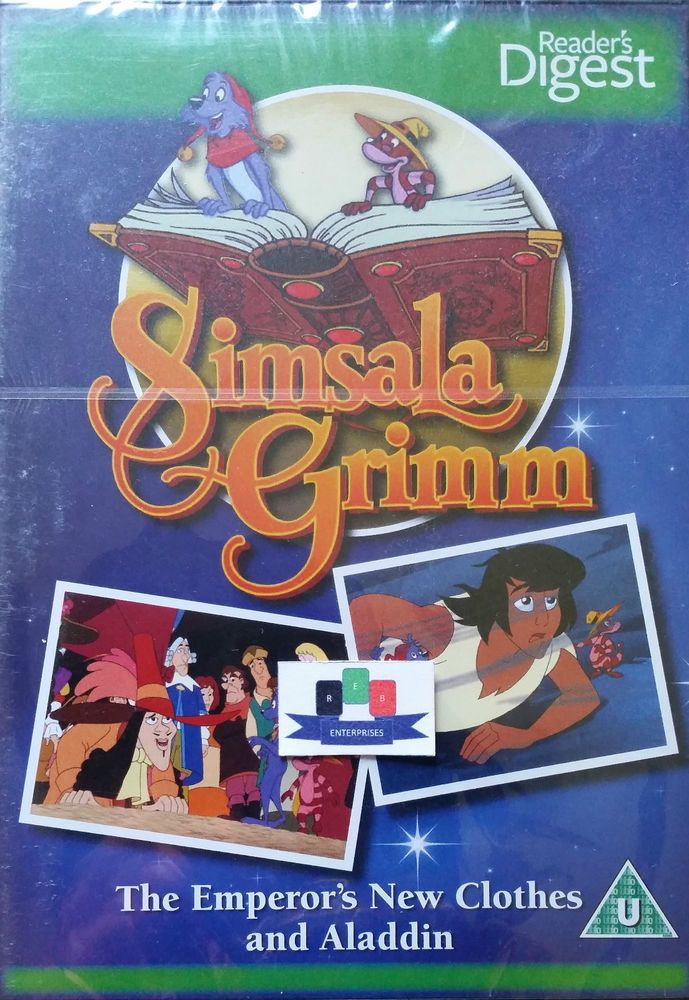 Please check this item out on my eBay store! Simsala Grimm - The Emperor s New Clothes And Aladdin DVD 2010 New And Sealed
