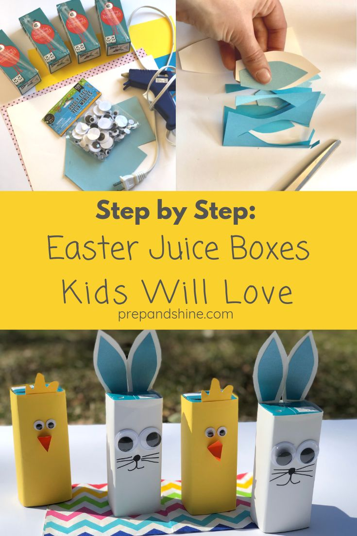 How to Make Quick & Easy Easter Juice Boxes | Easter ...