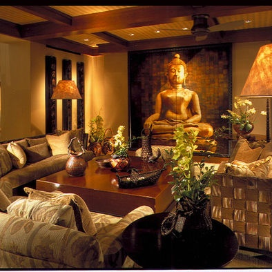 Asian Family Room Design, Pictures, Remodel, Decor And Ideas   Page 2