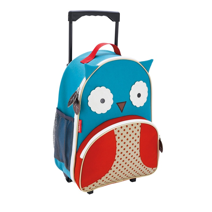Zoo Luggage - Owl  I NEED this.Toddlers Travel, Zoos Luggage, Kids Travel, Baby Registry, Skip Hop, Hop Zoos, Zoos Trolley, Owls, Kids Gift