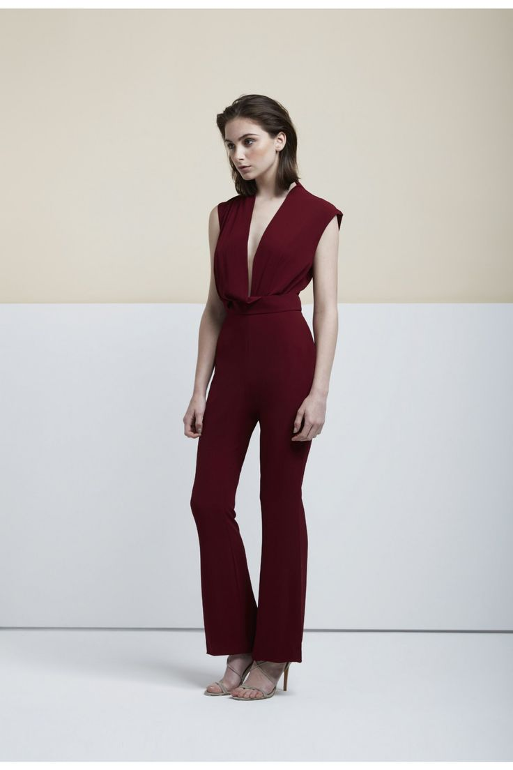 Finders Keepers - Dreaming Of You Jumpsuit In Plum