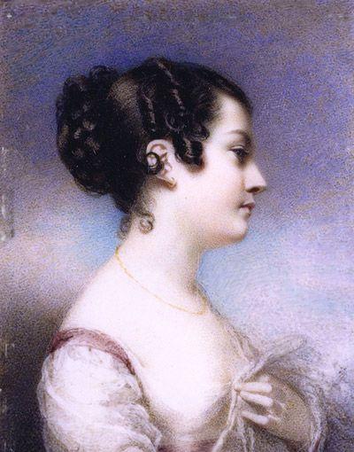 Georgiana McCrae, Self Portrait (aged 20)