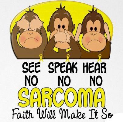 See, Speak, Hear No Sarcoma