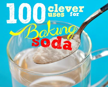 Baking Soda | Discover 100 fabulous uses for baking soda. Save time and money in bathroom, laundry and kitchen with this cheap and nifty powder.
