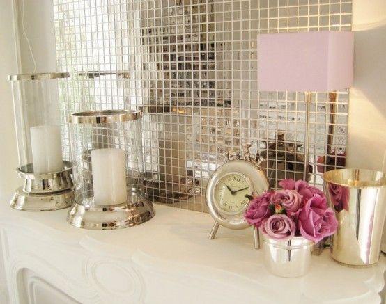 banheiro pastilhas vidro prata