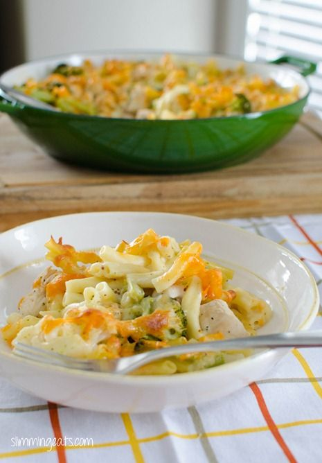 Chicken, Broccoli and Cauliflower Pasta Bake | Slimming Eats - Slimming World Recipes