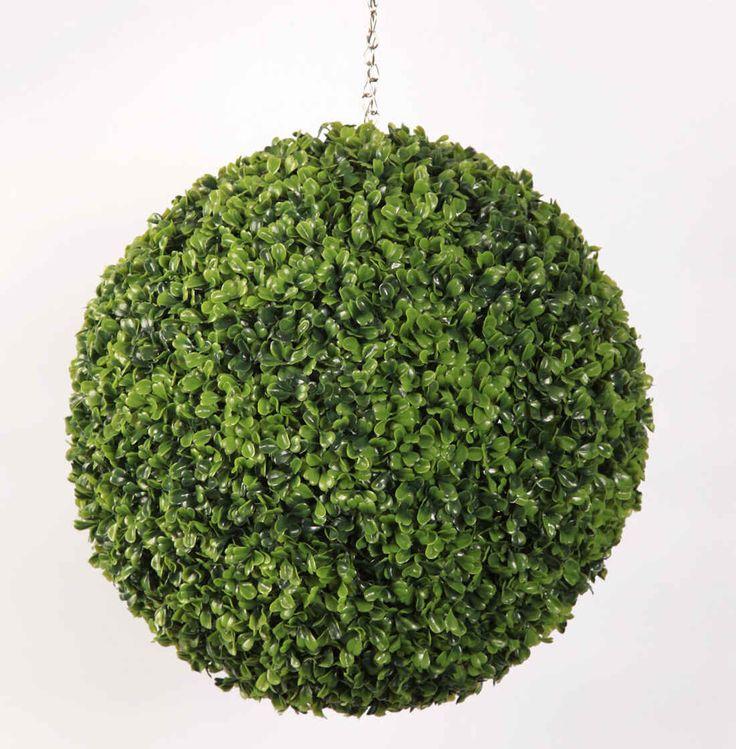 Artificial Boxwood Balls   Fake Topiary Balls   Blooming Artificial