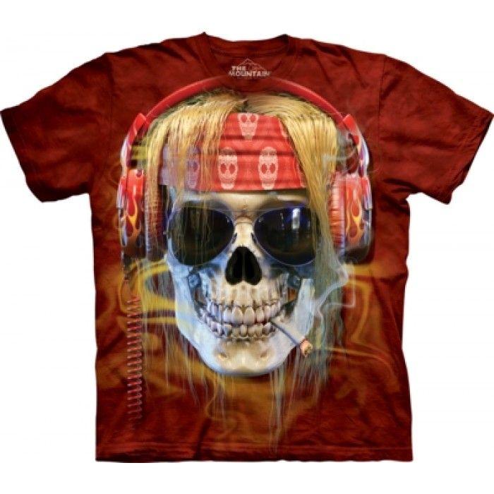Tricouri The Mountain – Tricou Rocker Skull