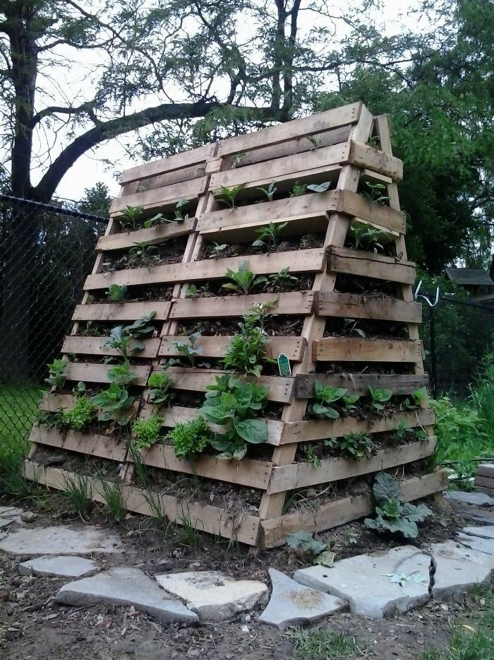 Hugel Tower Garden Garden Pinterest