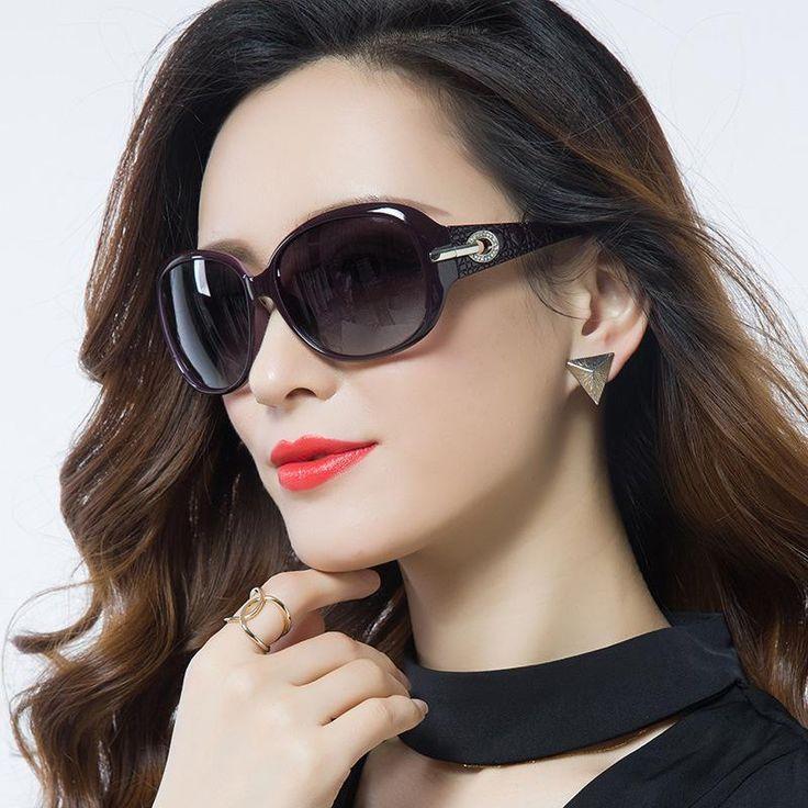 New Retro Brand Polarized Sunglasses Woman Sunglass Fashion Vintage Women Oculos De Sol Feminino 6214