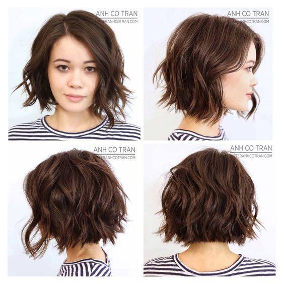 Peinados para pelo corto media melena