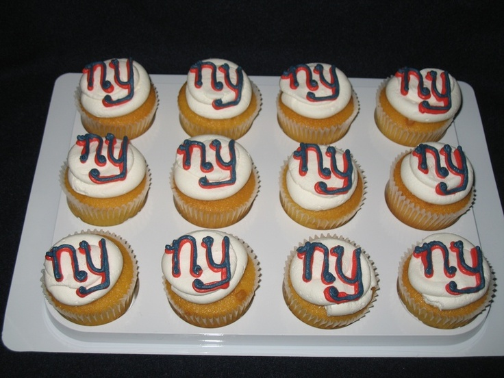 Elegant Super Bowl cupcakes