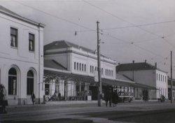 Het Staatsspoor (nu Den Haag Centraal) 60-er jaren