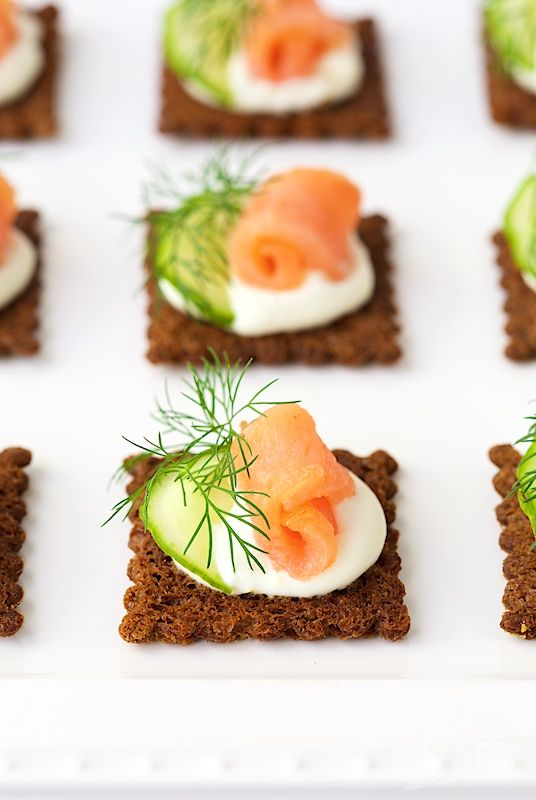 17 best ideas about salmon canapes on pinterest smoked for Simple canape appetizer