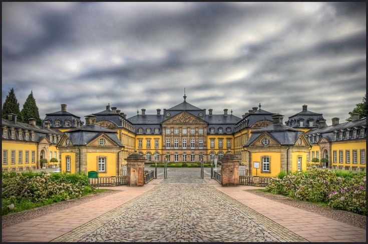 Bad Arolsen, Germany. The castle where Queen Emma from the Netherlands was born. It's worth a visit.